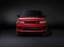 Фото авто Land Rover Range Rover Sport 2 поколение [рестайлинг], ракурс: 0 - рендер цвет: красный