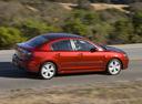 Фото авто Mazda 3 BK [рестайлинг], ракурс: 270 цвет: красный