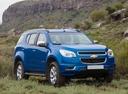 Фото авто Chevrolet TrailBlazer 2 поколение, ракурс: 315 цвет: синий