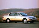 Фото авто Toyota Corolla E100, ракурс: 315 цвет: бежевый