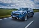Фото авто Kia Niro DE, ракурс: 45 цвет: синий