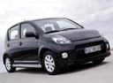 Фото авто Daihatsu Sirion 2 поколение [рестайлинг], ракурс: 315 цвет: черный