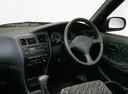 Фото авто Toyota Corolla E100, ракурс: рулевое колесо