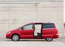 Фото авто SEAT Alhambra 2 поколение, ракурс: 90 цвет: красный