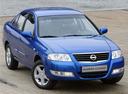 Фото авто Nissan Almera Classic B10, ракурс: 315 цвет: синий