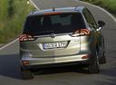 Фото авто Opel Zafira C, ракурс: 180 цвет: серебряный
