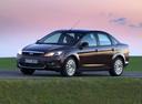 Фото авто Ford Focus 2 поколение [рестайлинг], ракурс: 45 цвет: коричневый