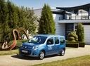 Фото авто Renault Kangoo 2 поколение [рестайлинг], ракурс: 45 цвет: синий