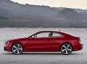 Фото авто Audi RS 5 8T [рестайлинг], ракурс: 90 цвет: красный