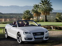 Фото авто Audi A5 8T, ракурс: 315 цвет: белый