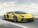 Фото авто Lamborghini Aventador 1 поколение [рестайлинг], ракурс: 225 цвет: желтый