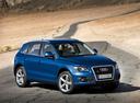Фото авто Audi Q5 8R, ракурс: 315 цвет: синий