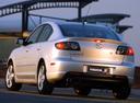 Фото авто Mazda 3 BK, ракурс: 135 цвет: серебряный