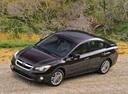 Фото авто Subaru Impreza 4 поколение, ракурс: 45 цвет: вишневый