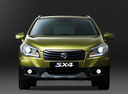Фото авто Suzuki SX4 2 поколение,  цвет: салатовый