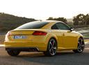 Фото авто Audi TT 8S, ракурс: 225 цвет: желтый