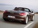 Фото авто Porsche Boxster 981, ракурс: 180 цвет: коричневый