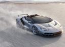 Фото авто Lamborghini Centenario 1 поколение, ракурс: 315 цвет: серебряный