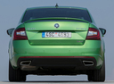 Фото авто Skoda Octavia 3 поколение [рестайлинг], ракурс: 180 цвет: зеленый