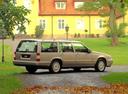 Фото авто Volvo V90 1 поколение, ракурс: 225 цвет: серебряный