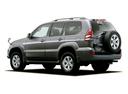 Фото авто Toyota Land Cruiser Prado J120, ракурс: 225 - рендер цвет: серый