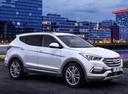 Фото авто Hyundai Santa Fe DM [рестайлинг], ракурс: 315 цвет: белый
