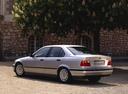 Фото авто BMW 3 серия E36, ракурс: 135 цвет: серебряный