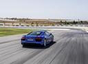 Фото авто Audi R8 2 поколение, ракурс: 225 цвет: голубой