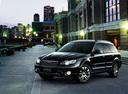 Фото авто Subaru Outback 3 поколение [рестайлинг], ракурс: 45 цвет: черный