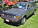 Фото авто Volkswagen Fox 1 поколение, ракурс: 45