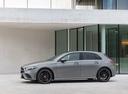 Фото авто Mercedes-Benz A-Класс W177/V177, ракурс: 90 цвет: серый