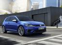 Фото авто Volkswagen Golf 7 поколение [рестайлинг], ракурс: 315 цвет: синий