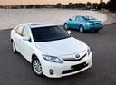 Фото авто Toyota Camry XV40 [рестайлинг], ракурс: 315 цвет: белый