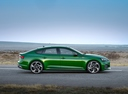 Фото авто Audi RS 5 F5, ракурс: 270 цвет: зеленый