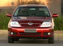 Фото авто Toyota Corolla E130 [рестайлинг],  цвет: красный