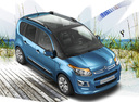 Фото авто Citroen C3 Picasso 1 поколение [рестайлинг], ракурс: 315 цвет: голубой
