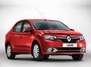 Фото авто Renault Logan 2 поколение, ракурс: 315 цвет: красный