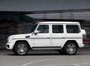 Фото авто Mercedes-Benz G-Класс W463 [2-й рестайлинг], ракурс: 90 цвет: белый