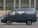 Фото авто ГАЗ Соболь Бизнес [2-й рестайлинг], ракурс: 90 цвет: серый