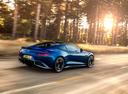 Фото авто Aston Martin Vanquish 2 поколение, ракурс: 225 цвет: голубой