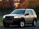 Фото авто Land Rover Freelander 1 поколение, ракурс: 45 цвет: серебряный