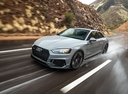 Фото авто Audi RS 5 F5, ракурс: 45 цвет: серый