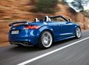 Фото авто Audi TT 8J [рестайлинг], ракурс: 270 цвет: голубой