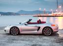 Фото авто Porsche Boxster 981, ракурс: 90 цвет: серебряный