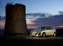 Фото авто Mazda 3 BL, ракурс: 45 цвет: сафари