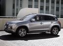 Фото авто Peugeot 4008 1 поколение, ракурс: 90 цвет: серый
