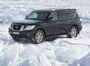 Фото авто Nissan Patrol Y62, ракурс: 45 цвет: черный