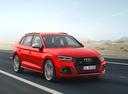Фото авто Audi SQ5 2 поколение, ракурс: 315 цвет: красный