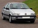 Фото авто Volkswagen Passat B3, ракурс: 315 цвет: серебряный