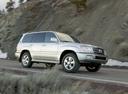 Фото авто Toyota Land Cruiser J100 [2-й рестайлинг], ракурс: 270